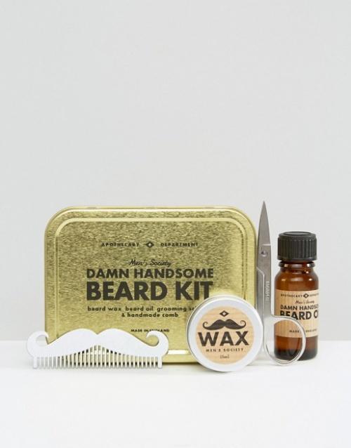 Men's Society - Kit de soin pour barbe