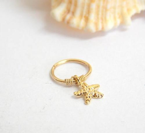 Etsy - Boucle étoile de mer