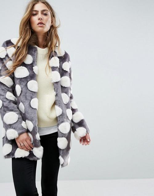 Unreal Fur - Manteau en fausse fourrure