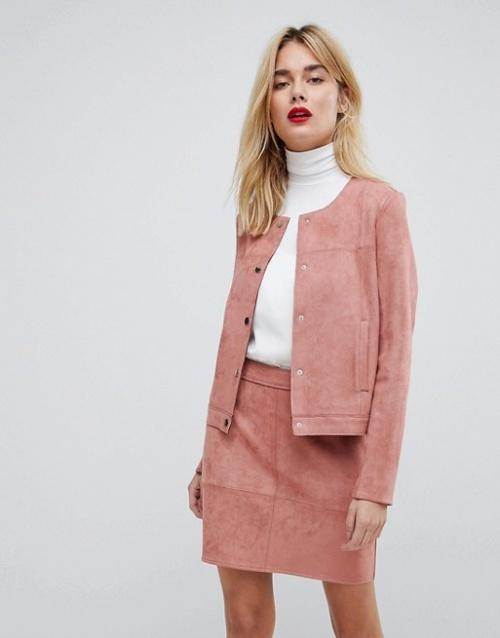 Vero Moda - Blazer imitation daim