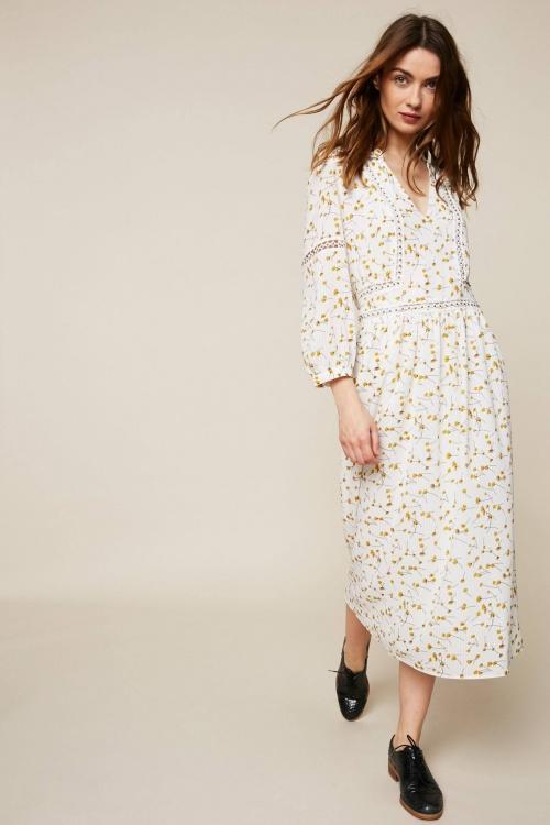 See U Soon - Robe longue à imprimé floral