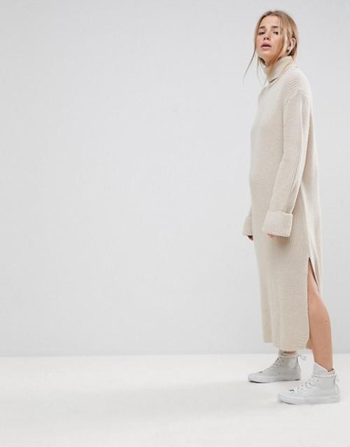 Asos - Robe longue en maille