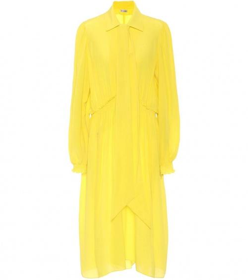 Balenciaga - Robe en crêpe de soie