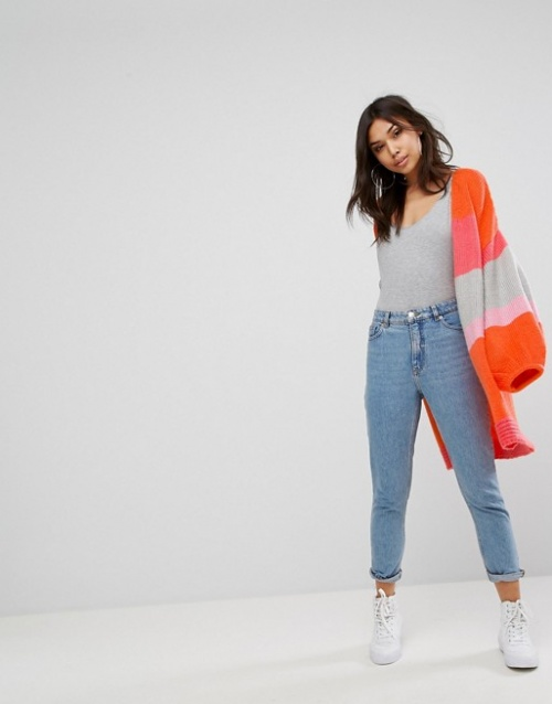 Pretty Little Thing - Cardigan color block