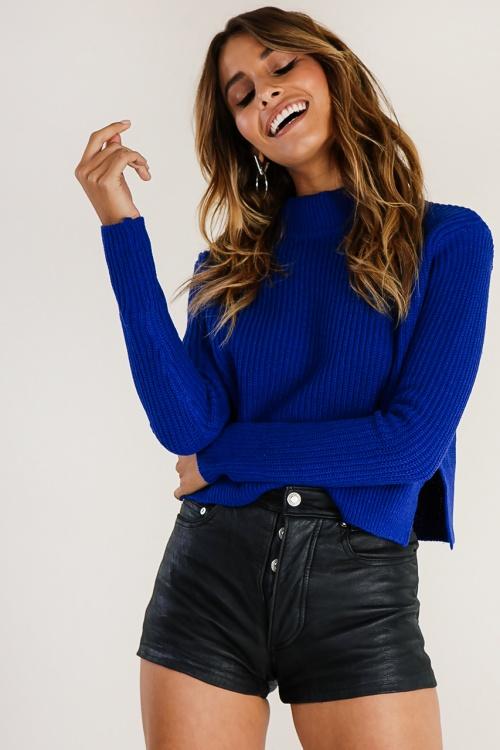 Verge Girl - Pull bleu