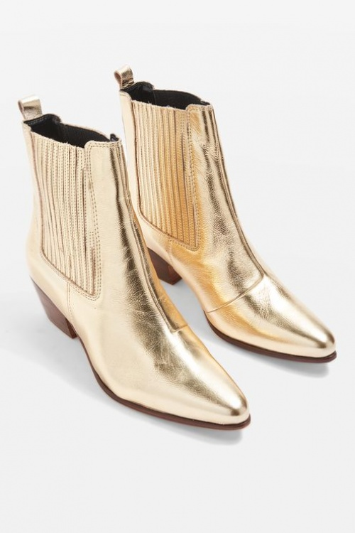 Topshop - Bottines Western