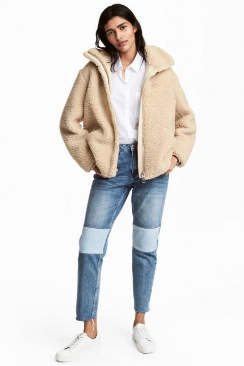 H&M - Jean straight longueur cheville
