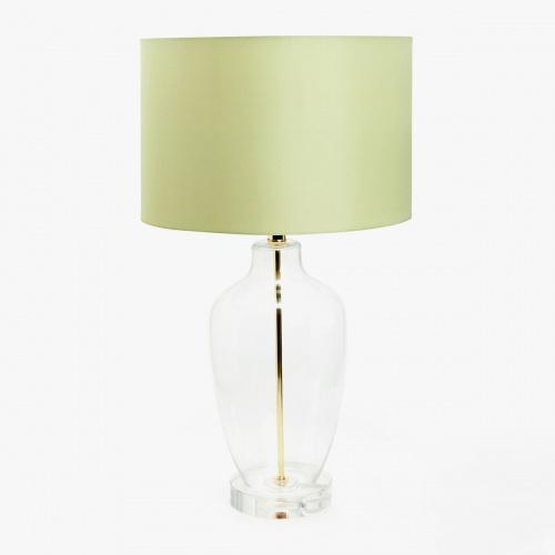 Zara Home - Lampe à abat-jour vert