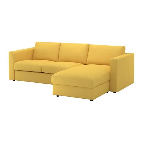 Ikea - Canapé 3 places avec méridienne