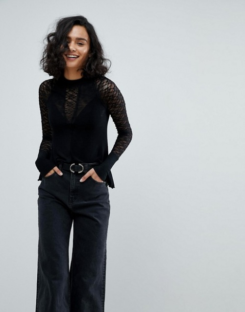 Free People -Top à superpositions