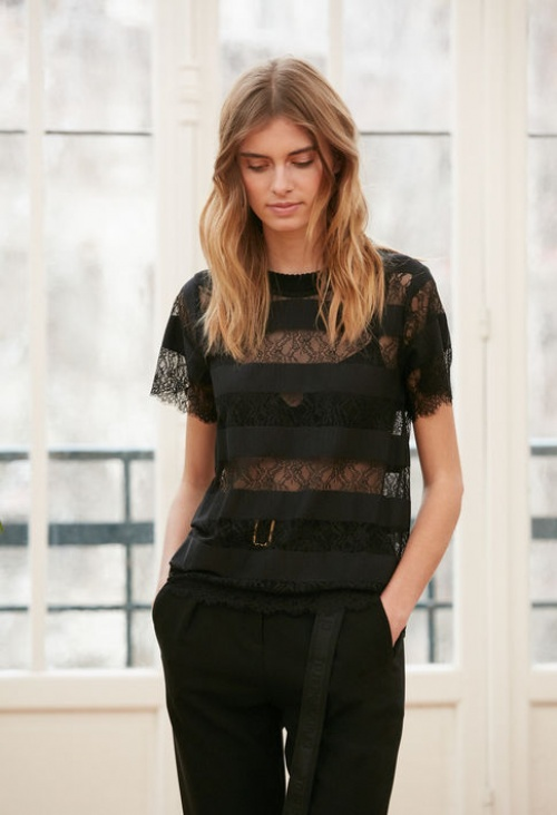 Claudie Pierlot - Top en dentelle