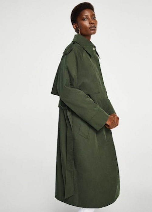 Mango -  Trench style militaire