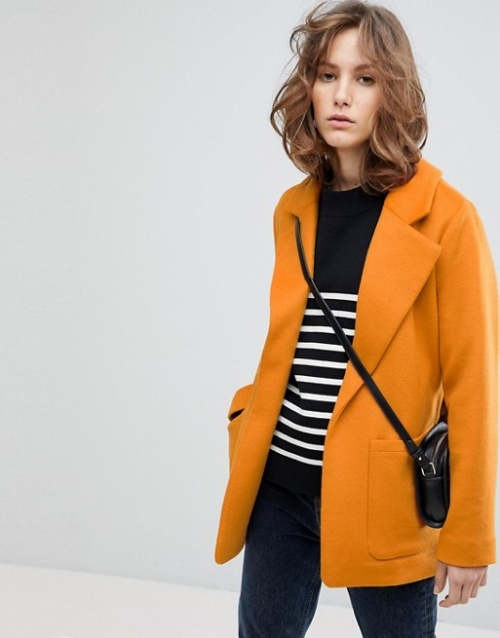Selected Femme - Trench court fendu