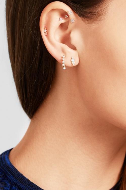 Maria Tash - Boucle d'oreille en or