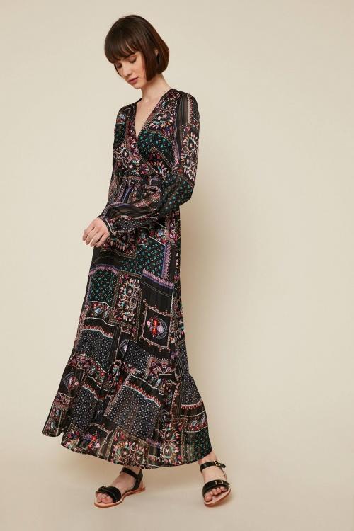 Jane Wood - Robe cache-coeur