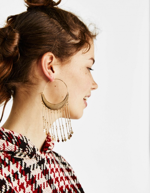 Bershka - Boucles d'oreilles