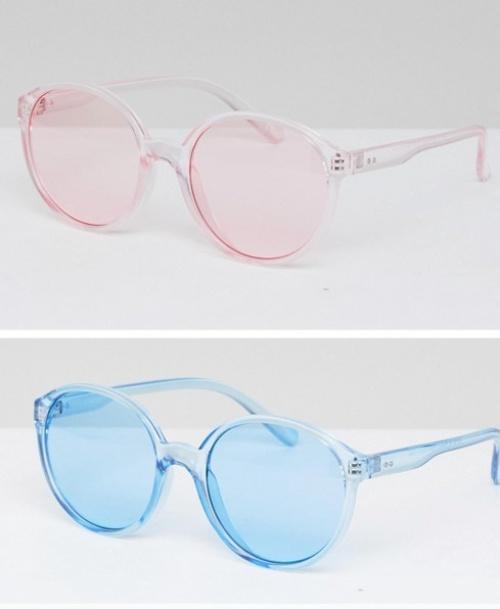 Asos - Lot de 2 lunettes de soleil