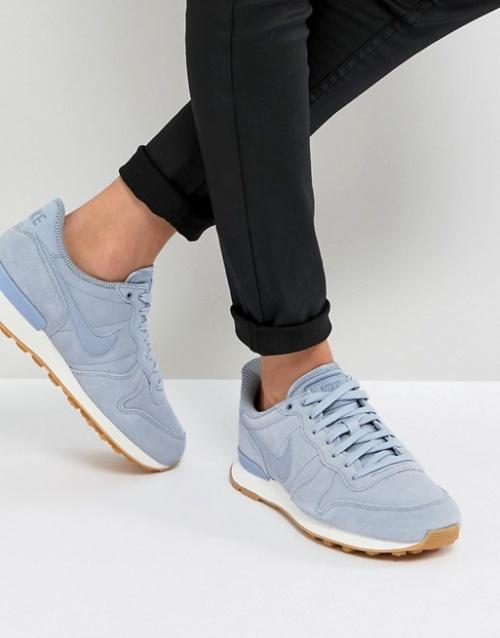 Nike - Baskets gris glacier