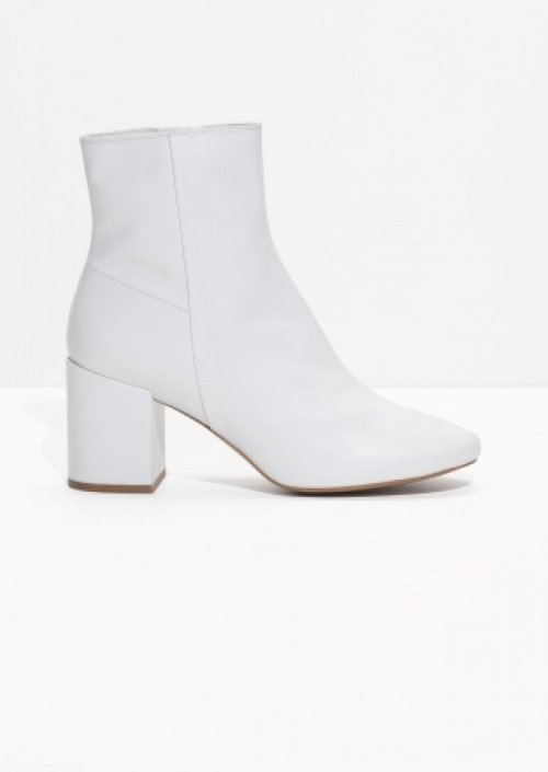 & Other Stories - Bottines blanches