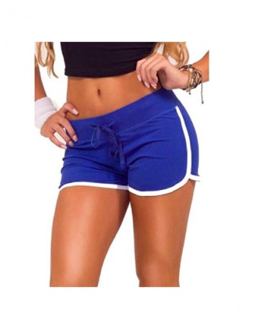 Hosaire - Short casual bleu électrique