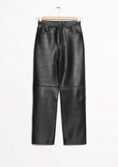 & Other Stories - Pantalon en cuir