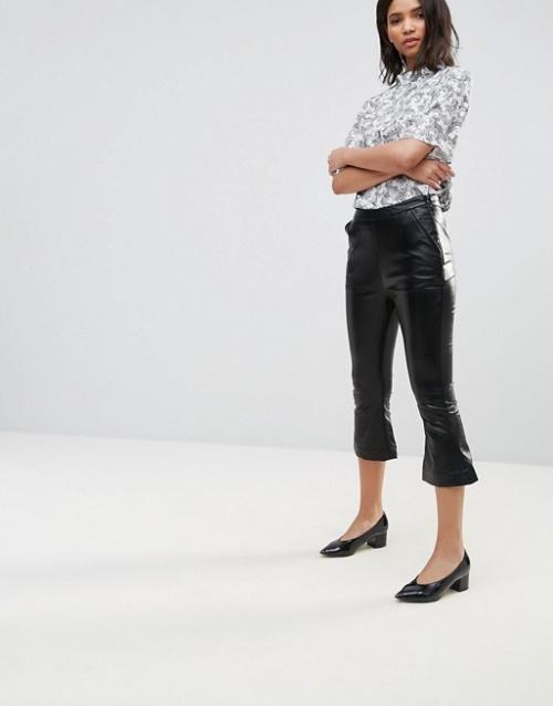 Neon Rose - Pantalon en similicuir