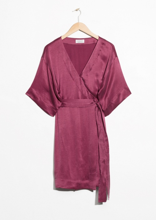 & Other Stories - Robe portefeuille