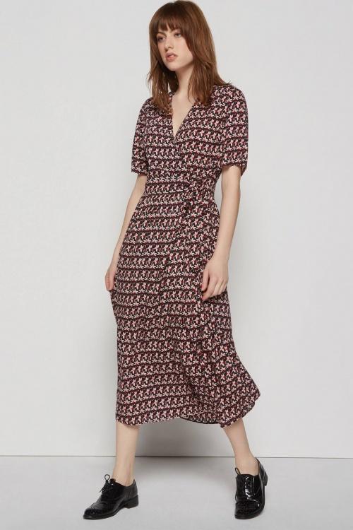Monoprix - Robe portefeuille