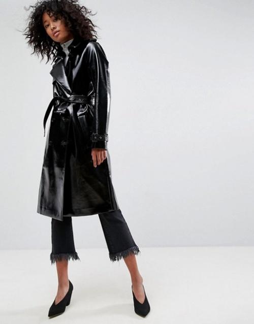 ASOS - Trench-coat en vinyle
