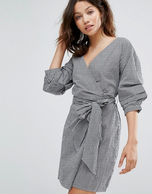 New Look - Robe portefeuille