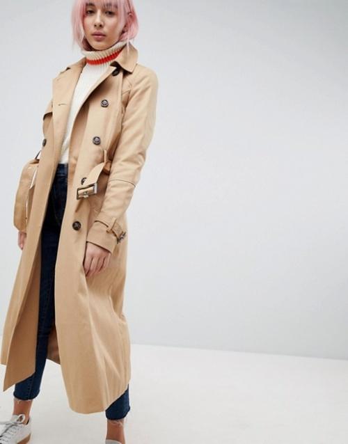 ASOS - Trench-coat long classique