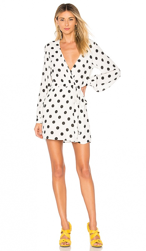 Lovers + Friends - Robe portefeuille