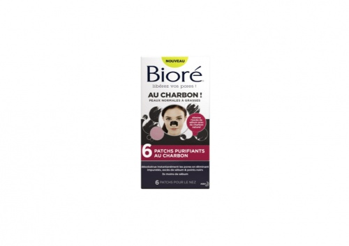 Bioré - 6 patchs purifiants au charbon