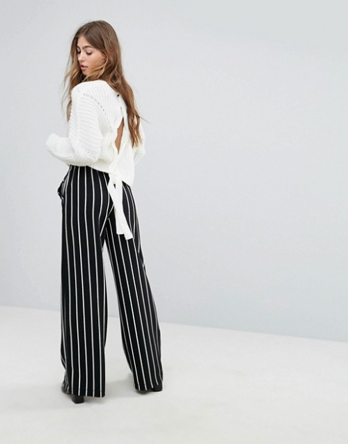 Missguided - Pull lacé