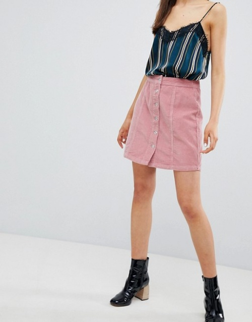 New Look - Mini-jupe boutonnée