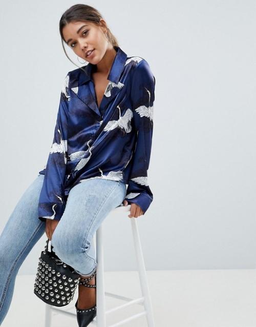 Missguided - Blouse style pyjama