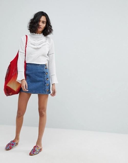 Free People - Mini-jupe