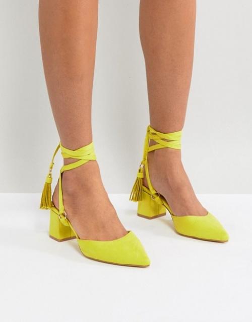 RAID - Chaussures à talons mi-hauts avec pampilles