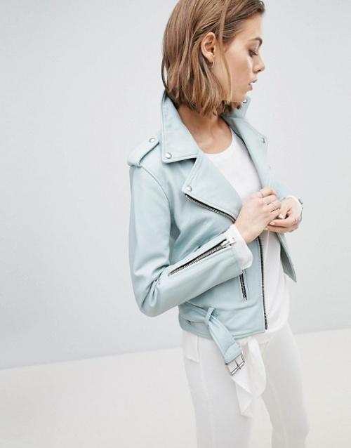 AllSaints - Veste en cuir