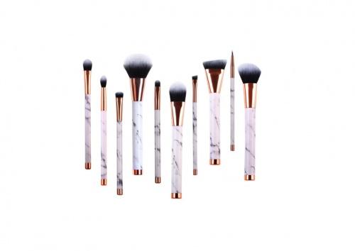 Real perfection - Set de pinceaux pour maquillage porcelaine