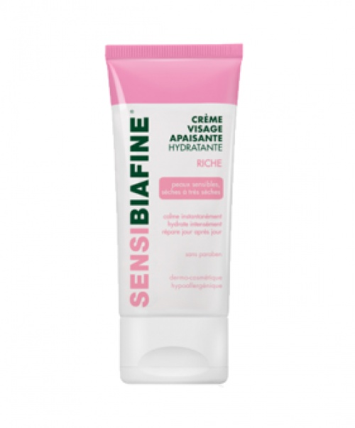 SENSIBIAFINE® - Crème visage apaisante hydratante riche