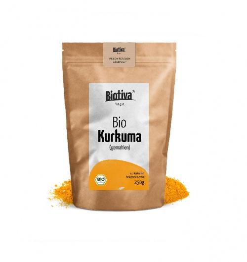 Biotiva - Poudre de curcuma organique