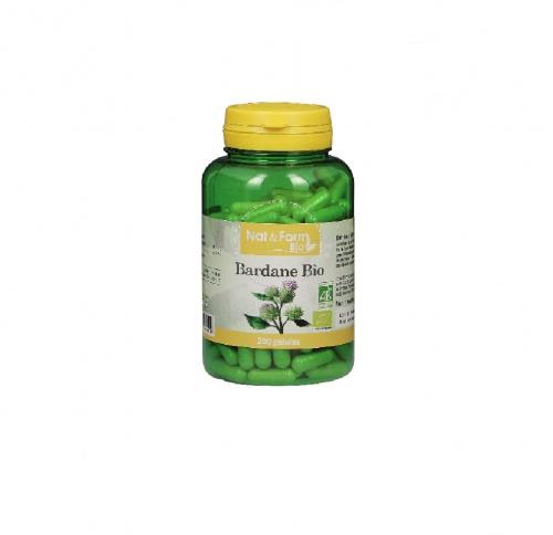 Nat & Form Bio - Gélules de Bardane Bio