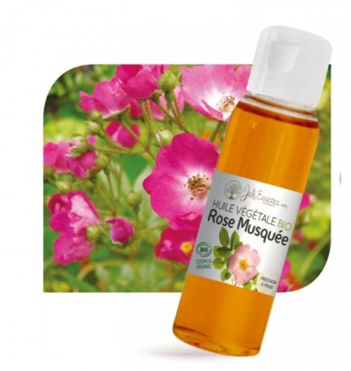 Joli'Essence - Huile végétale de rose musquée