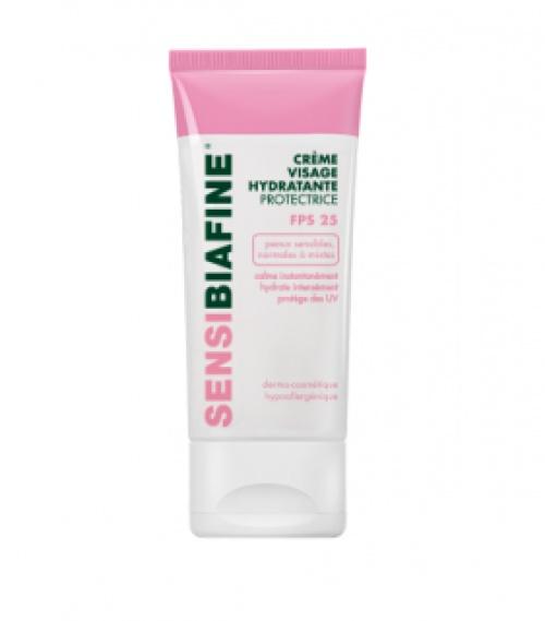 SENSIBIAFINE® - Crème visage hydratante protectrice FPS 25