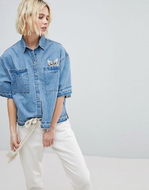 Paul & Joe Sister - Veste-chemise en jean