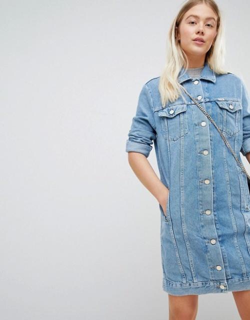 Wrangler - Robe en jean