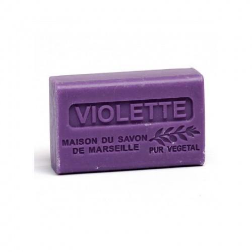La Maison du Savon de Marseille - Savon 125gr au beurre de karité bio parfum violette