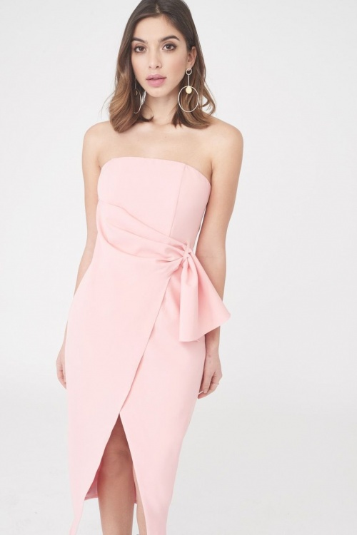 Lavish Alice - Robe wrap bustier