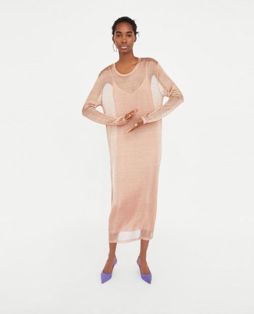 Zara - Robe en transparence